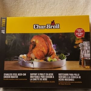 Char-Broil stainless chicken roaster